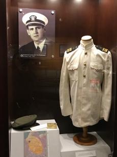 """Paul """"Bear"""" Bryant's Naval uniform"""
